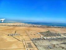 Airview авиапорта Стоковое Изображение