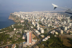 Airview de Antalya Imagem de Stock