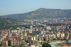 Airview de Nápoles Foto de Stock Royalty Free