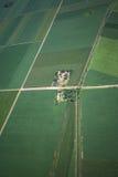 Airview do campo Fotografia de Stock