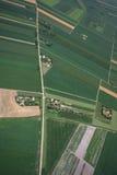 Airview do campo Fotos de Stock Royalty Free