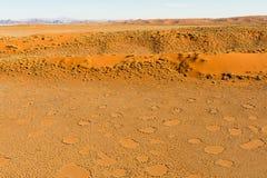 Airwiev das dunas de Sossusvlei, Namíbia Fotografia de Stock