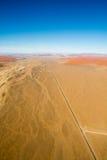Airwiev das dunas de Sossusvlei, Namíbia Imagem de Stock Royalty Free