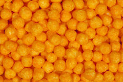 Airy Cheese Balls Stock Image