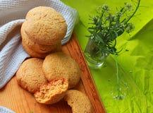 Airy Cookies hecho en casa foto de archivo