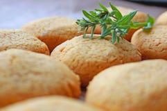 Airy Cookies hecho en casa fotografía de archivo