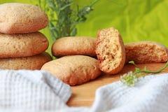 Airy Cookies hecho en casa fotos de archivo