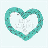 Airy design in Valentines Day Royalty Free Stock Photos
