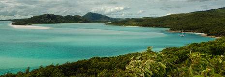 Airy& x27; islas del Pentecostés de la entrada de s fotografía de archivo libre de regalías