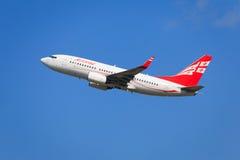 Airzena Boeing 737 Fotos de Stock