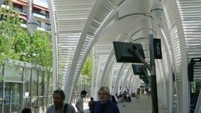 Ais en普罗旺斯汽车站 股票视频