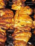 Aisan grelhou a galinha Fotografia de Stock