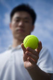 Aisan Tennis Player Stock Photography