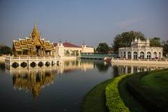 Aisawan-Dhipaya-Asana at Bang-Pa-In Summer Palace royalty free stock photo