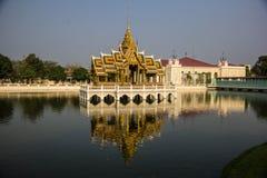 Aisawan-Dhipaya-Asana at Bang-Pa-In Summer Palace stock photos