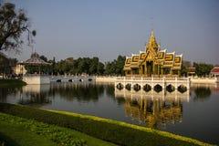 Aisawan-Dhipaya-Asana at Bang-Pa-In Summer Palace royalty free stock images