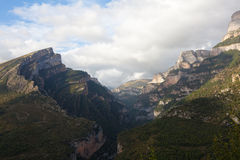 Aisclo canyon Stock Images