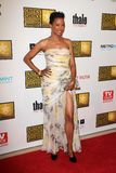 Aisha Tyler ai premi Choice della televisione dei secondi critici annuali, Beverly Hilton, Beverly Hills, CA 06-18-12 Fotografia Stock