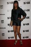 Aisha Tyler, raiva Fotografia de Stock