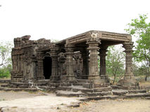 Aishwareshwar Temple. Its photo of ancient aishwareshwar temple in India stock images
