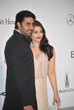 Aishwarya Rai & Abhishek Bachchan Foto de Stock