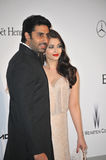 Aishwarya Rai & Abhishek Bachchan Stock Photo