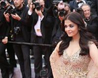 Aishwarya Rai atende ao ` do miliampère Loute da baía da folga do ` Imagem de Stock Royalty Free