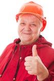 Mujer del mayor del retrato Foto de archivo libre de regalías