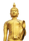 Aislante de Buda de la piel de la grieta en blanco Foto de archivo libre de regalías