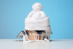 Aislante de calor de la casa Fotos de archivo libres de regalías