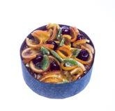 Aislante de la torta de la fruta Foto de archivo