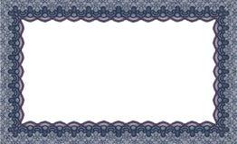 Aislante del marco de la tela del cordón de la frontera Imágenes de archivo libres de regalías