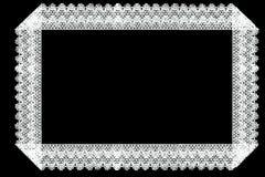Aislante del marco de la tela del cordón de la frontera Fotografía de archivo libre de regalías