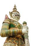 Aislante gigante de la estatua en blanco Imágenes de archivo libres de regalías
