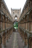 Aisle in Jedburgh Abbey Royalty Free Stock Photo