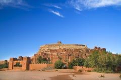 ait古老benhaddou城市摩洛哥 免版税库存图片