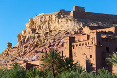 ait古老benhaddou城市摩洛哥 免版税库存照片