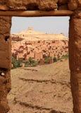 ait古老benhaddou堡垒摩洛哥人 库存照片