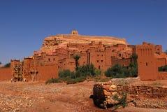 Ait摩洛哥的本Haddou 免版税库存图片