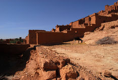 Ait摩洛哥的本Haddou 库存照片