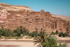 Ait本Haddou,摩洛哥 图库摄影