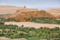 ait本haddou kasbah摩洛哥 免版税库存图片
