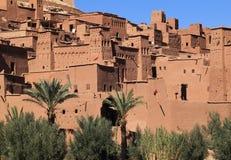 Ait本Haddou Kasbah,摩洛哥 免版税库存图片