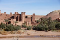 Ait Бен Haddou Marokko стоковые изображения