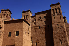 Ait Ben Addou, a ksar in the desert Stock Photography