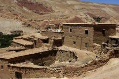 Ait Ben Addou, um ksar no deserto Fotos de Stock Royalty Free