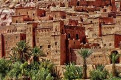 Ait Ben Addou, um ksar no deserto Imagens de Stock