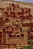 Ait Ben Addou, um ksar no deserto Imagem de Stock Royalty Free