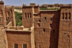 Ait Ben Addou, um ksar no deserto Imagem de Stock