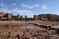 Ait Ben Haddou πόλη στο Μαρόκο Στοκ εικόνα με δικαίωμα ελεύθερης χρήσης
